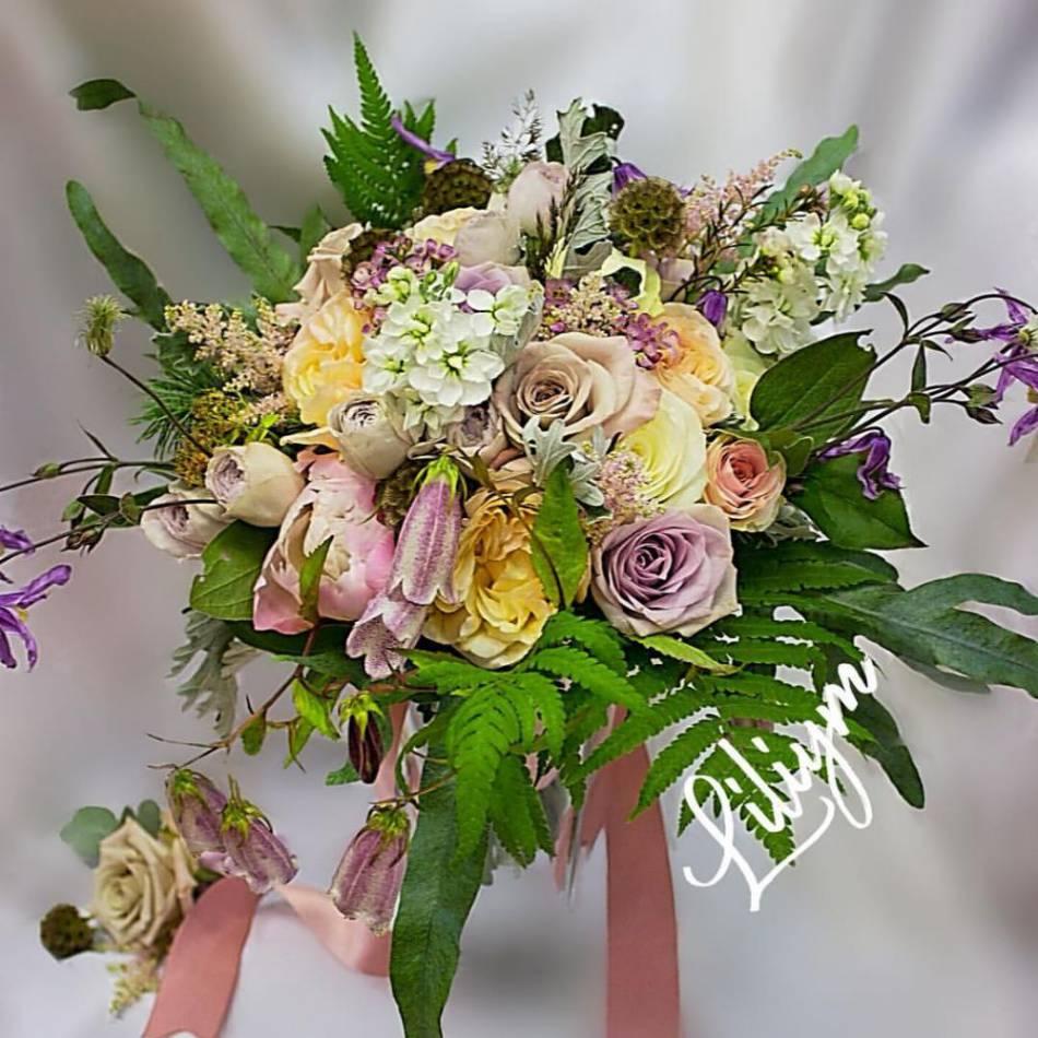Стабилизированные цветы, свадебные букеты в фрязино